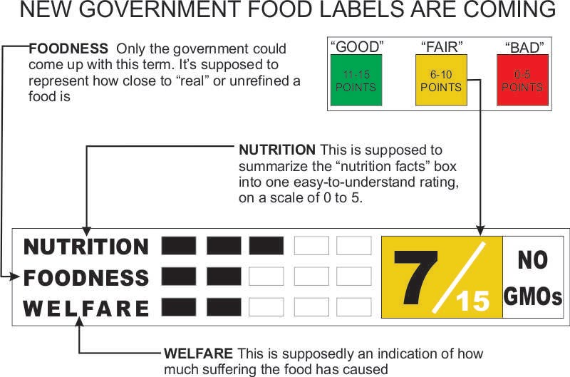 The New Nutrition Labels