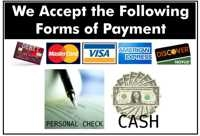 Holland Clinic accepts all forms or payment