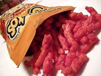 Red Hot Flamin' Cheetos: Obesigen or Poop Dye?