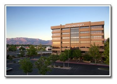 Image of Holland Clinic's new location (2017) in the Lewis University Building at 2440 Louisiana Boulevard NE, Suite 540 in Albuquerque, New Mexico 87110