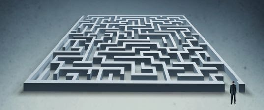 Photo of a Weight Loss Maze